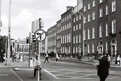 Leeson Street/Earlsfort Terrace (Mark Carmody) Tags: film filmisnotdead filmphotography filmisalive ishootfilm canon canona1 kosmo foto kosmofoto 100 dublin mayo