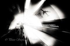 New runway at Heathrow (steff808) Tags: uk unitedkingdom england angleterre tube fujifilmxe2 fujinon1024 noiretblanc blackandwhite blancoynegro biancoenero londres london