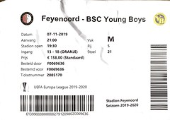 "Feyenoord - YB 1:1 (1:0) • <a style=""font-size:0.8em;"" href=""http://www.flickr.com/photos/79906204@N00/49034189377/"" target=""_blank"">View on Flickr</a>"
