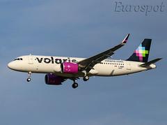 F-WWBP Airbus A320 Neo Volaris (@Eurospot) Tags: airbus toulouse blagnac fwwbp n544vl a320 neo 9343 volaris a320271n