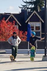 Skate Jam at Helena Gutteridge Plaza (VIVA_Vancouver) Tags: vancouverskateboardcoalition vsbc vivavan vivask8 publicspace skate sk8 vivavancouver tacticalurbanism