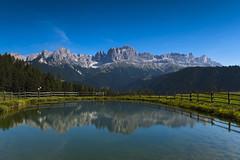 P9203314 (Dirk Buse) Tags: südtirol rosengarten italien berge see spiegelung sonne blauer himmel natur outdoor alto adige reflektion m43 mu43 mft