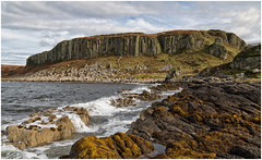 Drumadoon Point (Antony Ward) Tags: scotland isleofarran coast drumadoonpoint basalt