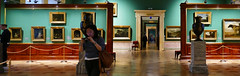 A Day at the Museum (Le.Patou) Tags: challenge challengesurflickr indoor panoramic russie russia россия saintpétersbourg stpetersburg санктпетербург fz1000 musée museum green picture painting art brown perspective corridor room vanishingpoint pano panorama cof084mari cof084unic cof084dmnq cof084mark
