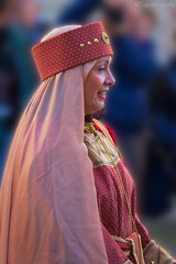 Queen in 479 d.C. (Eugenio GV Costa) Tags: approvato costumi sagra medieval medioevo medievale persone gente people regina dama dame queen festival
