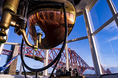 View From North Queensferry Light Tower (Jason Hoyle) Tags: northqueensferrylighttower lighthouse fife forthrailbridge railwaybridge scotland forth forthcrossing bridge riverforth