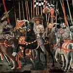 24 Паоло Учелло Битва при Сан-Романо 1456-60 Лувр