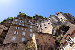 Rocamadour, perched city of Périgord in France (Gilles B. Photographe) Tags: ancient france design historic cute nature rocamadour monument city tourist panorama background stone tower religious trees summer perigord building unesco catholic monastery travel pilgrim architecture european wall village old sky fantasy castle view high landscape medieval church chateau landmark outdoors tourism outdoor rock destination town chapel religion pilgrimage blue lot hill beautiful french poster fairy colorful heritage green illustration europe cliff dordogne