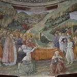 34b Филиппо Липпи Успение. Алтарная фреска собора в Сполетто 1467-69