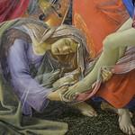 53а Ботичелли Снятие с креста.Фрагмент. 1490-95 Мюнхенская Пинакотека