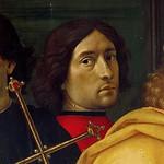 63 Доменико Гирлондайо. Автопортрет (фрагмент Поклонения волхвов) 1488-89. Флоренция