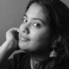 Amused! (Bhuvan N) Tags: portrait portraits blackandwhite monochrome mono bw absoluteblackandwhite retrato headshot beautyportrait shadows bnw bwportrait bnwportrait lowkeyportrait