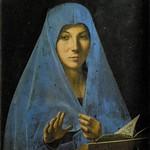 76 Антонелло да Мессина Богородица из Благовещения 1475