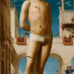 75 Антонелло да Мессина. Святой Себастьян. 1479-80