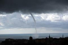 Tromba Marina - Waterspout (Maurizio Boi) Tags: trombamarina waterspout genova genoa mare sea
