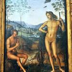 90 Перуджино Апполон и Марсий 1495-1500 Лувр