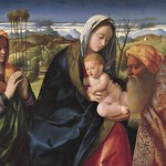 83 Джованни Беллини. Сретение 1505-10 Галерея Тиссена-Борнемиссы