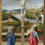 81 Джованни Беллини. Распятие, 1453-55