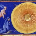 80h Джованни ди Паоло Рай, девятое небо, перводвигатель, кристальное небо - обитель ангелов и святых