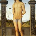 91 Перуджино. Святой Себастьян, 1495. Лувр