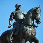 98a Андреа Вероккио. Статуя Каллеони