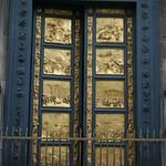 96a Лоренцо Гиберти. Двери флорентийского баптистерия (Врата рая) 1425-52