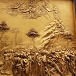 96b Л.Гиберти. Дарование Закона Моисею