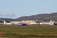 Flybe at Isle of Man EGNS 08/11/19 (IOM Aviation Photography) Tags: flybe isle man egns 081119