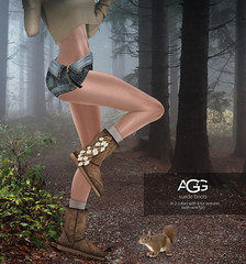 a scary squirrel... ([Avenge]) Tags: originalmesh sadnovember suedeboots uggboots