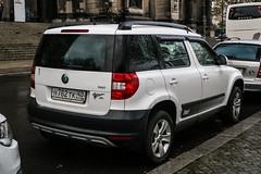 Russia (Kaluga) - Skoda Yeti (PrincepsLS) Tags: russia russian license plate 40 kaluga germany berlin spotting skoda yeti