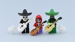Fiesta de los Muertos (I'm late😫) (Alex THELEGOFAN) Tags: lego legography minifigure minifigures minifig minifigurine minifigs minifigurines dead skeleton fiesta de los muertos