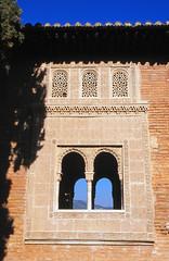Portico de Partal, Palacios Nazaries, Alhambra, Granada (Niall Corbet) Tags: spain andalucia granada alhambra arch window