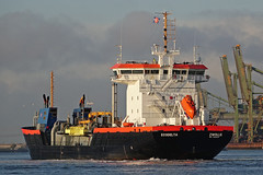 ECODELTA (kees torn) Tags: ecodelta vanderkamp baggerschip europoort mississippiehaven denieuweprins fastferry ret