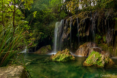 Gorg Molí dels Murris 3 (gercade) Tags: waterfall salt daigua río river forest bosc bosque naturaleza longexposure