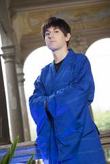 _MG_3100 (Mauro Petrolati) Tags: riccardo shinji ikari lucca comics games 2019 kimono yukata cosplay cosplayer neon genesis evangelion version palazzo pfanner