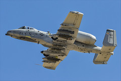 Fairchild Republic A-10C Thunderbolt II - 58 (NickJ 1972) Tags: redflag nellis air base airbase afb fairchild republic a10 thunderbolt ii warthog 820658 ot