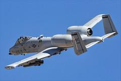 Fairchild Republic A-10C Thunderbolt II - 60 (NickJ 1972) Tags: redflag nellis air base airbase afb fairchild republic a10 thunderbolt ii warthog 820658 ot