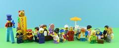 LEGO 60234 People Pack - Fun Fair🍦 (Alex THELEGOFAN) Tags: lego legography minifigure minifigures minifig minifigurine minifigs minifigurines people pack 60234 fun fair ice food