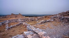 Gran Quivara Ruins on a Foggy Day (LDMcCleary) Tags:
