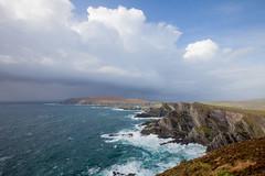 kerry cliffs (s.v.e.n.) Tags: kerry cliffs ireland portmagee travel sea ocean atlantic wildatlanticway storml water cumulus cumulonimbus weather landscape seascape canon 5dmkii 1740mm