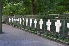 Anniversary and Memorials (wandering tattler) Tags: death murder berlin ostberlin wall berlinwall crosses martyrs freedom escape 2018 1989 gdr ddr