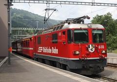20190707 - 6616 - RhB - 618 - 1147 Landquart to Davos Platz - Kublis (Paul A Weston) Tags: rhb rhatischebahn 618 kublis 1147landquarttodavosplatz switzerland