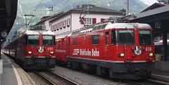 20190707 - 6618 - RhB - 625 & 618 - Klosters Platz (Paul A Weston) Tags: rhb rhatischebahn switzerland 618 625 klostersplatz