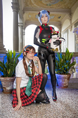 _MG_3138 (Mauro Petrolati) Tags: mari lucca 2019 comics games palazzo pfanner cosplay cosplayer miriam makinami neon genesis evangelion rei ayanami black plugsuit rebuild beatrice rebird
