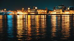 Al Seef (|MBS-..|) Tags: nikon macro dubai reflection d700 night architecture city light