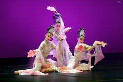 nights in Beijing (dim.pagiantzas | photography) Tags: beijing nights event theater performance performers art dancers dancing stage artists traditional chinese women female portrait beauty uniforms colors spot faces