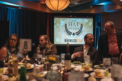 the table, before the awards. (M///S///H) Tags: 2019 albuquerque awards coworkers fullframe gala hotelstaff newmexicohospitalityassociation november2019 pointandshoot rx1rii snapshots sony