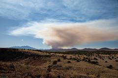 Controlled Burn (grobinette) Tags: coconinonationalforest controlledburn arizona