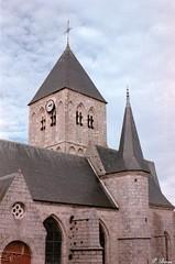 Eglise St-Martin de Veules-les-Roses (Philippe_28) Tags: veuleslesroses caux 76 seinemaritime france europe normandie normandy argentique analogue camera photographie film 135