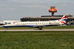 G-EMBU (PlanePixNase) Tags: aircraft airport planespotting haj eddv hannover langenhagen british britishairways embraer 145 e145